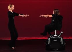 Merry Lynn Rolling Dance Chair