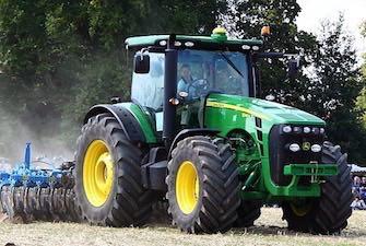 John Deere tractor.