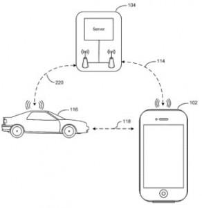 locating vehicle