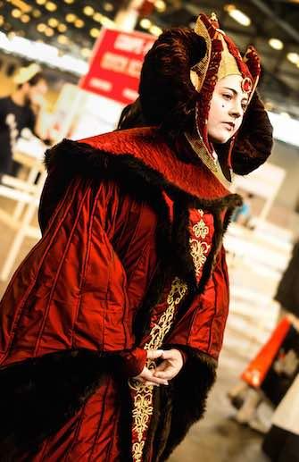 Padmé Amidala cosplay