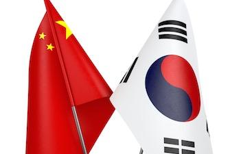 china-korea-flag-335