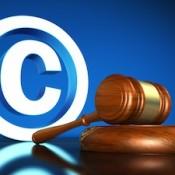 Copyright gavel