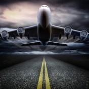 airplane-dark-clouds-335