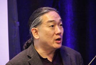Edward Jung delivering keynote at IP Dealmakers Forum, December 7, 2015.