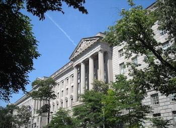 Commerce Department building in Washington, D.C. CC 3.0.