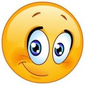 half-smile-emoji