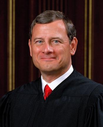 Chief Justice John Roberts, United States Supreme Court.