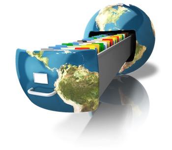 File cabinet earth