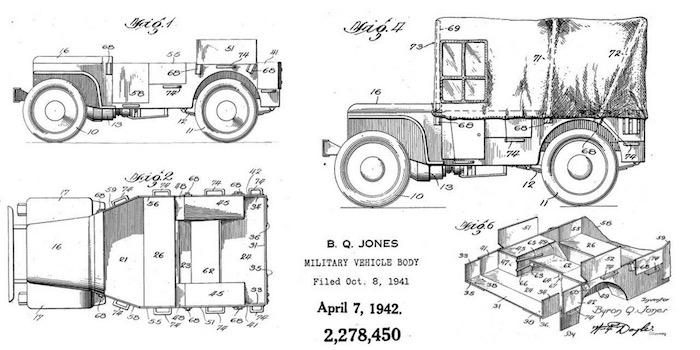 75th anniversary of the original jeep patent