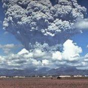 Eruption plume