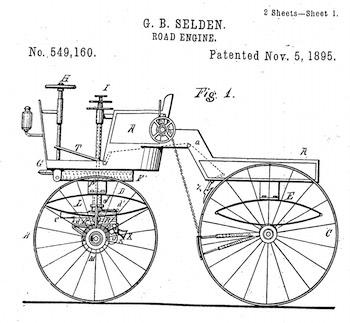Figure 1 of Selden's '160 patent.