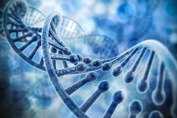 DNA 3d render