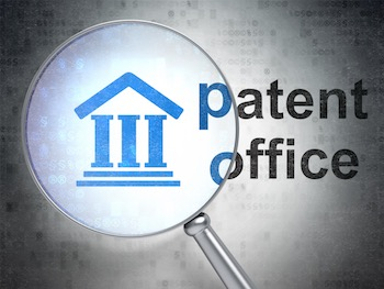 Patent Office magnified.