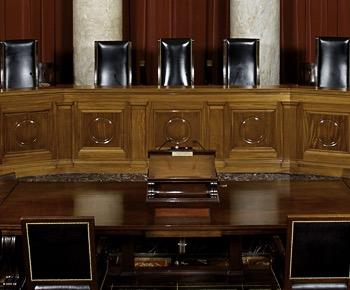 Supreme Court bench