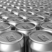 Blank aluminum cans