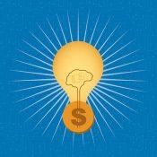 Lightbulb idea for money