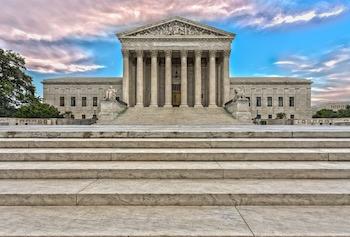 Supreme Court door