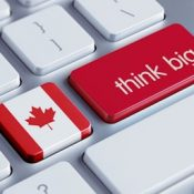 Canada think big keyboard