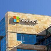 Microsoft corporate building in Santa Clara, California.