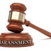 Harassment gavel