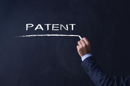 Patent blackboard