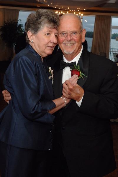 Mary and Gene Sr., September 9, 2006, on Gene & Renee's wedding day, Syracuse, New York.