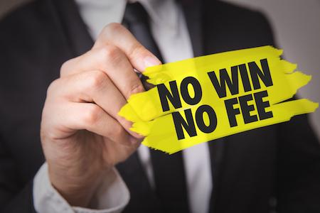 Lawyer fees rule: No win no fee