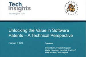 Unlocking the Value of Software Patents – February 2018