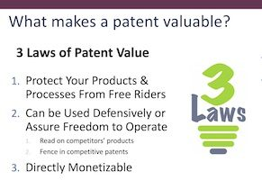 Patent Value Indicators: An In-Depth Discussion – August 2, 2018