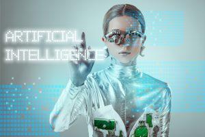 https://depositphotos.com/227010482/stock-photo-futuristic-silver-cyborg-touching-artificial.html