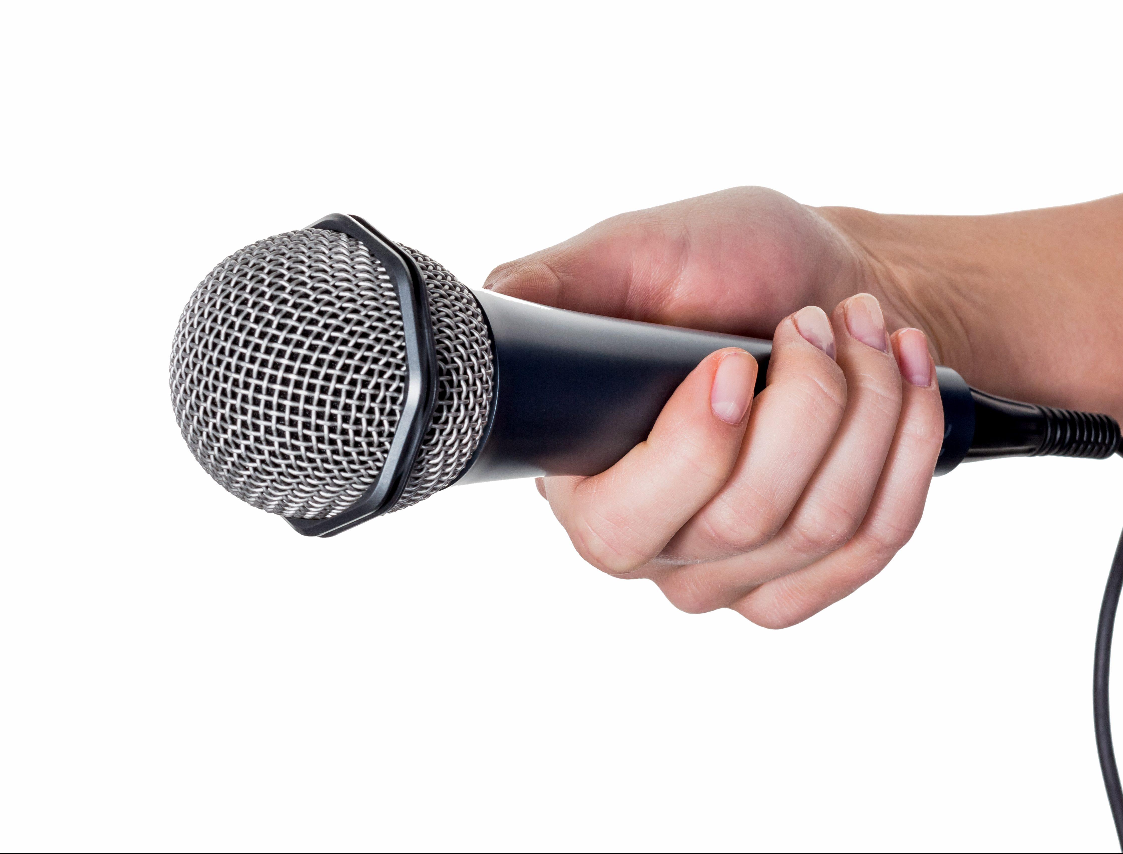 Google v. Oracle roundup - https://depositphotos.com/69798509/stock-photo-woman-holding-microphone.html