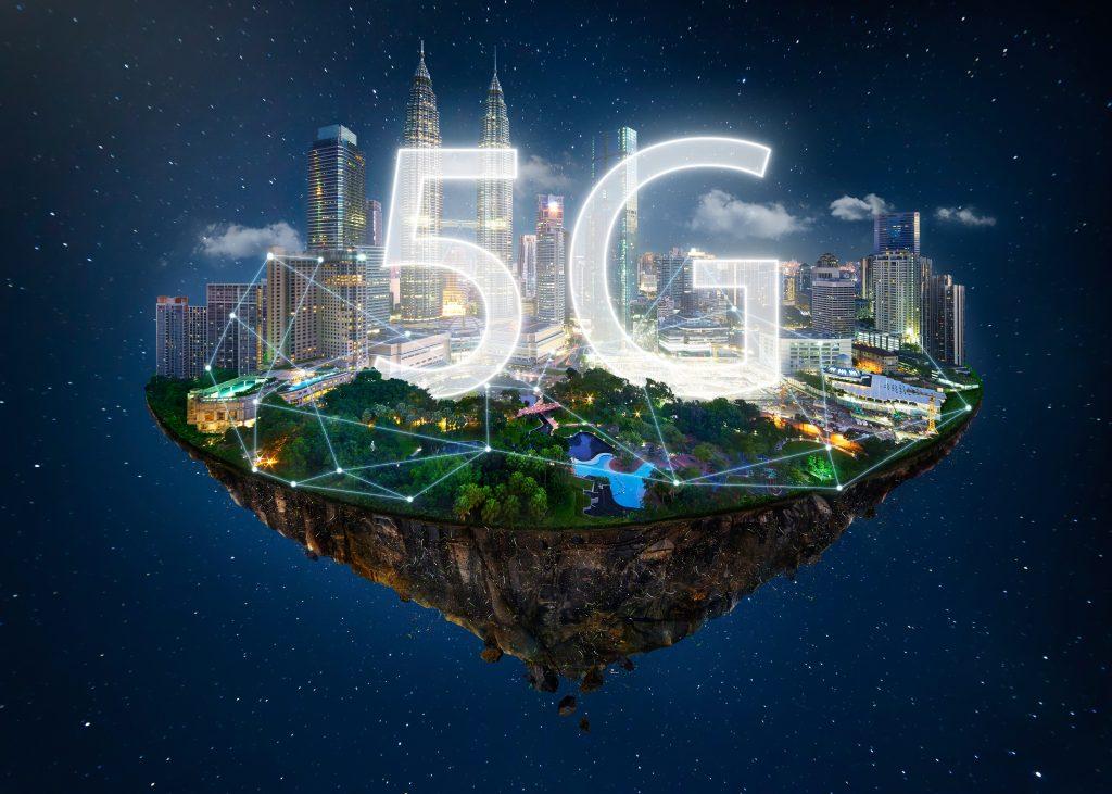 5G - https://depositphotos.com/182552442/stock-photo-fantasy-island-floating-air-network.html