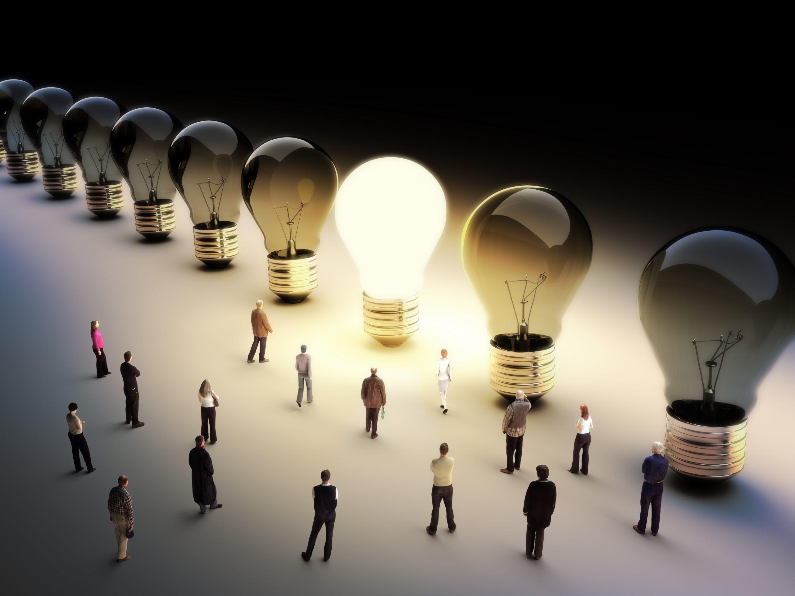 Patent Wisdom - https://depositphotos.com/26343203/stock-photo-moving-to-the-light.html